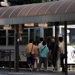 岡山の路面電車にほんの少し乗車する 四国初上陸の旅 その21