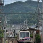 叡山電車で出町柳駅から鞍馬駅までを乗車する 夏の京都旅行2012 その21