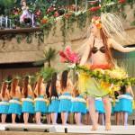 フラガールポリネシアンレビューのラストはソロダンサーのマカレア麻衣によるダンス! スパリゾートハワイアンズでの極上美食の共演とフラガールを見る旅 その5