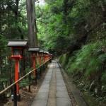 鞍馬山を上って鞍馬寺の本殿へ 夏の京都旅行2012 その23