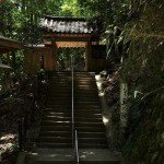 緑豊かな鞍馬山を越えて貴船へと到達する 夏の京都旅行2012 その24