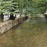 木屋町通を散策して喫茶ソワレで青の空間を楽しむ 夏の京都旅行2012 その37
