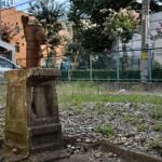 北区滝野川2丁目の井戸ポンプ、墜つ