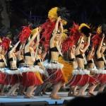 プアリリア樹さんによるグランドポリネシアンショー『イムア・未来へ』のソロダンス スパリゾートハワイアンズでの極上美食の共演とフラガールを見る旅 その10