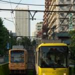 【Tokyo Train Story】新旧の黄色い電車(都電荒川線)