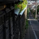 富士見坂を下って終点の早稲田電停へ 都電撮影フォトウォークin8月 その6