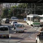 【Tokyo Train Story】自動車と一緒にS字カーブ(都電荒川線)