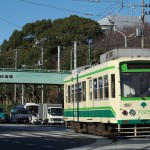 【Tokyo Train Story】飛鳥山公園前で信号待ちをする都電荒川線