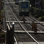 【Tokyo Train Story】逆光の中の直線区間(都電荒川線)