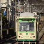 【Tokyo Train Story】冬の日差しを浴びる都電荒川線