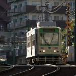 【Tokyo Train Story】坂道の一番高い場所から下り始める都電荒川線
