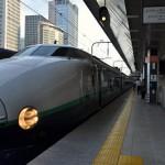 200系新幹線、バス、上越線と乗り継いで土合駅へ 夏の終わりの谷川岳登山 その1