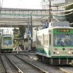【Tokyo Train Story】踏切からの眺め(都電荒川線)