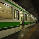 日本一のモグラ駅として有名な上越線土合駅への訪問記 夏の終わりの谷川岳登山 その2