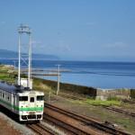函館本線森駅でキハ40を撮影する 男一匹道南青森の旅 その14