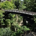 日本三奇橋のひとつである猿橋を見学する 青春18きっぷで行く夏の山梨日帰り旅行 その4