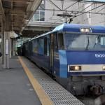 大月で富士急行線のフジサン特急を撮影する 青春18きっぷで行く夏の山梨日帰り旅行 その5