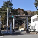 烏山の八雲神社境内にある井戸ポンプ 冬の青春18きっぷの旅 栃木編 その3