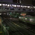 【Tokyo Train Story】渋谷-代官山間で東急東横線とJRが立体交差する風景