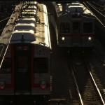 【Tokyo Train Story】西陽の中の東急池上線