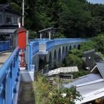 下風呂温泉のアーチ橋を見学する 男一匹道南青森の旅 その25