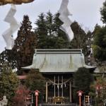 今市の町中で古い建物が並ぶ一角を撮影する 冬の青春18きっぷの旅 栃木編 その11