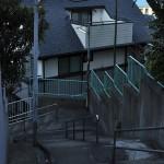 桜木町の高台から望む朝の富士山 冬の横浜散歩 その4