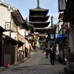 雪舞う祇園を散歩する 春の京都紀行 その9