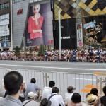 銀座中央通りに集まった50万人を熱狂させたロンドンオリンピック日本代表選手団メダリストパレードに行ってきた