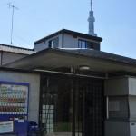 東京スカイツリー周辺にある井戸ポンプ