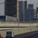 【Tokyo Train Story】尾久橋横の日暮里・舎人ライナー