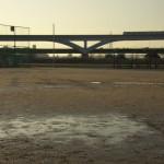 【Tokyo Train Story】雨上がりのグランドにて(日暮里舎人ライナー)