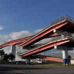 木更津の中の島大橋で迎えるマジックアワー 青春18きっぷで行く夏の久留里線の旅 その12