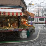 【Tokyo Train Story】雪の中の八百屋さん(都電荒川線)