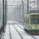 【Tokyo Train Story】雪中走行!(都電荒川線)