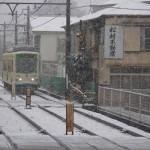 【Tokyo Train Story】不動産屋がある風景(都電荒川線)