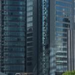 【Tokyo Train Story】汐留地区の高層ビル群(ゆりかもめ)