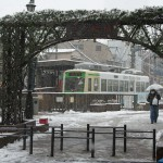 【Tokyo Train Story】三ノ輪橋電停雪景色