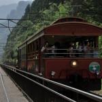 廃止された信越本線上を走るトロッコ列車のシェルパくんをたっぷりと撮影する 夏の青春18きっぷで行くアプトの道の旅 その3
