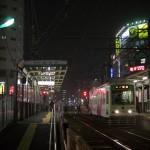 【Tokyo Train Story】夜の町屋駅前電停(都電荒川線)