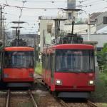 【Tokyo Train Story】赤とオレンジのスレ違い(東急世田谷線)