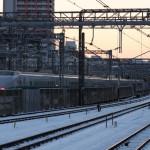 【Tokyo Train Story】東京雪景色の中の200系新幹線