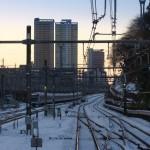 【Tokyo Train Story】山手線から眺める雪景色