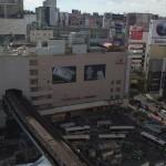 【Tokyo Train Story】地下鉄銀座線の高架部分を見下ろす