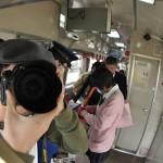 今泉駅から羽前成田駅までの山形鉄道の車窓風景 元気が出る鉄道写真2011の旅 その4