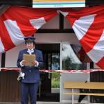 山形鉄道フラワー長井線羽前成田駅で写真展開催! 元気が出る鉄道写真2011の旅 その5