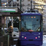 【Tokyo Train Story】紫色の都電の顔つき