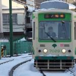 【Tokyo Train Story】1月14日、東京での大雪の翌日に(都電荒川線)