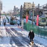 【Tokyo Train Story】凍った坂道(都電荒川線)