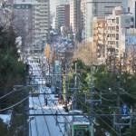 【Tokyo Train Story】都電荒川線の雪景色を俯瞰する